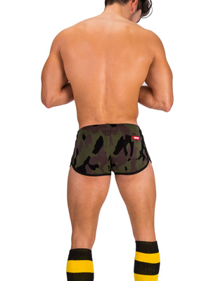 Barcode Short Naked Warrior Camouflage