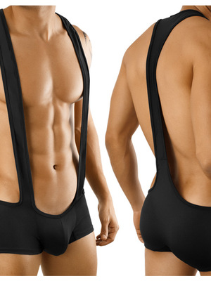 Candyman Singlet Color Black