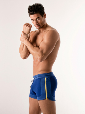 CODE22 Quick Dry Sport Short Blue