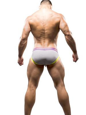 Andrew Christian Trophy Boy Brief Heather