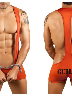 Candyman Singlet Outfit Color Orange