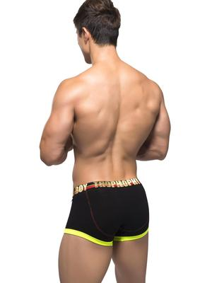 Andrew Christian Trophy Boy Boxer Black