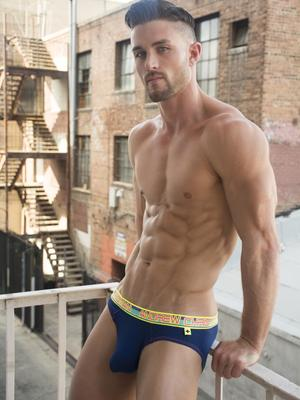 Andrew Christian Almost Naked Tagless Brief Navy