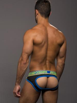 Andrew Christian Air Jock Black
