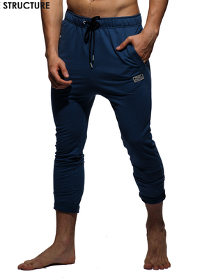 PRIVATE STRUCTURE Skinny Carrot Casual Pants Blue