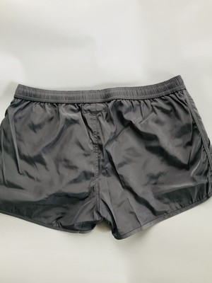PRIVATE STRUCTURE HI-SHEEN Running Shorts Grey