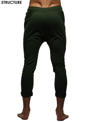 PRIVATE STRUCTURE Skinny Carrot Casual Pants Green