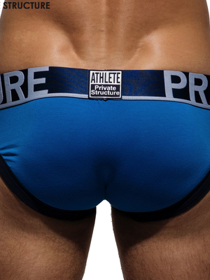 PRIVATE STRUCTURE Athlete Brief Brilliant Blue