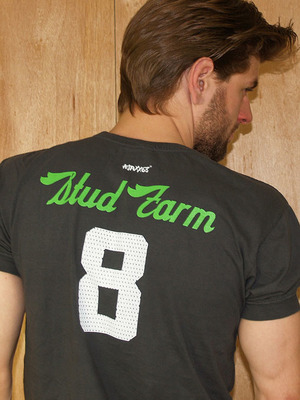 Ajaxx63 Stud Farm Faded Black