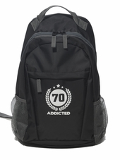 Addicted Backpack Black