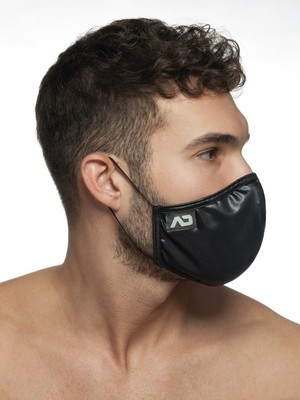 ADDICTED SHINY MASK Black