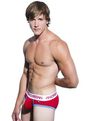 Andrew Christian Werqin Brief W/Show-It Tech. Red