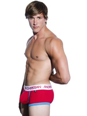 Andrew Christian Werqin Boxer W/Show-It Tech. Red
