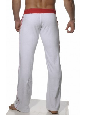 Addicted Long Towel Sportive Pant White