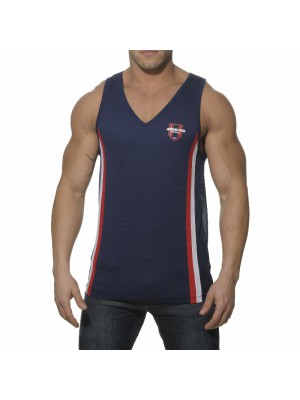 Addicted Loose Fitting Tanktop Navy
