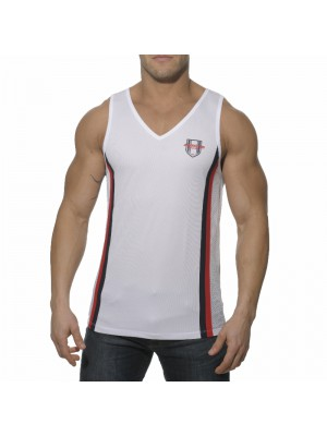 Addicted Loose Fitting Tanktop White