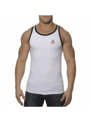 Addicted Boxing Sport Tanktop White