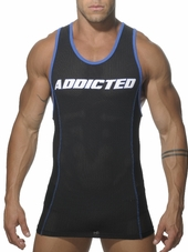 ADDICTED Sport Tank Top Black