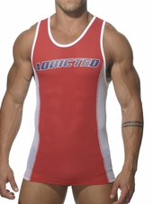 ADDICTED Sport Tank Top Red
