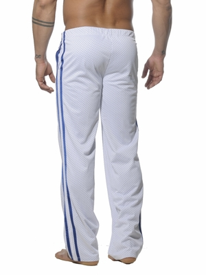 Addicted Air-Mesh Track Pant White
