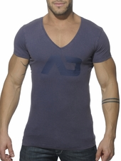 Addicted Vintage V-Neck T-Shirt