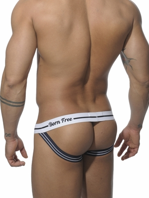 Addicted Born Free Jockstrap Navy