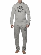 ADDICTED Hoody Heather Grey