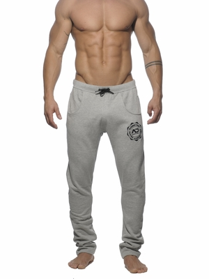 Addicted Slim Sweat Pant Heather Grey