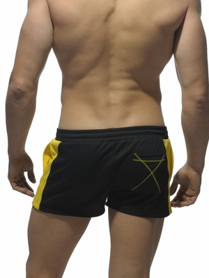 ADDICTED Running Short Black
