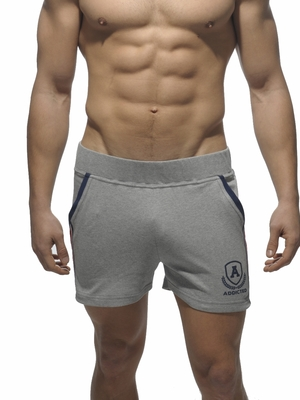 ADDICTED Short Tight Pant Intercotton Heather Gray