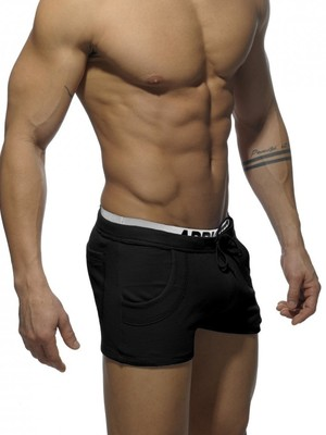 ADDICTED Combined Waistbrand Short Black