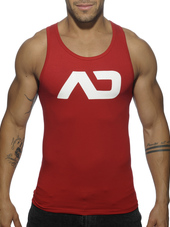 ADDICTED Basic AD Tanktop Red