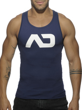 ADDICTED Basic AD Tank Top Navy