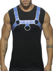 ADDICTED FETISH HARNESS TANK TOP