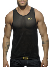 ADDICTED Metal Tanktop Gold