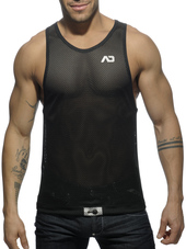 ADDICTED Metal Tanktop Silver