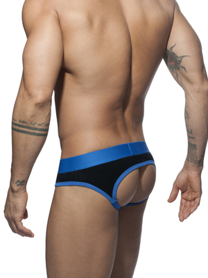 ADDICTED VELVET COMBI JOCK Royal Blue