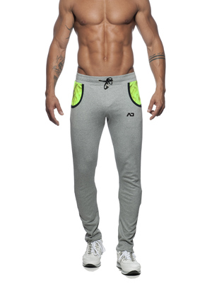 ADDICTED Geoback Pant Heather Grey