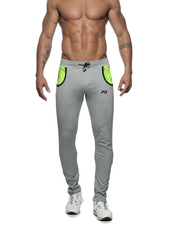 ADDICTED Geoback Pant Heather Gr