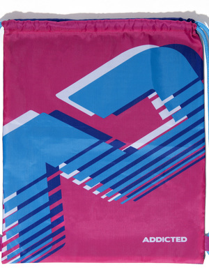 ADDICTED AD Reversible Backpack Pink