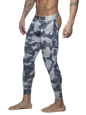 ADDICTED Bottomless Camo Long John Camouflage Mod