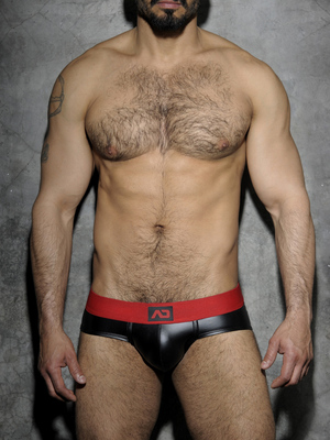 ADDICTED FETISH Rub Brief Red