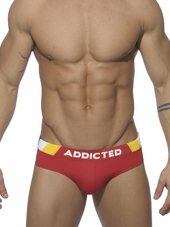 Addicted Sunga Sports Brief Red