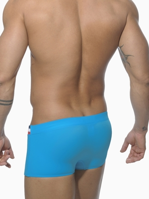 Addicted Low Cut Athletic Waist Boxer Blue Surf