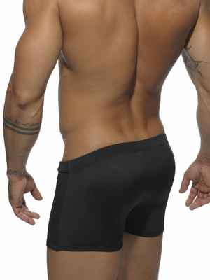Addicted Zip Boxer Black