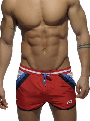 Addicted Stripes Short Red