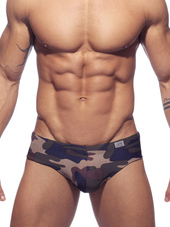 ADDICTED Camo Swim Brief Camoufl