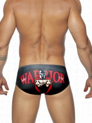 ADDICTED Warrior Brief Black
