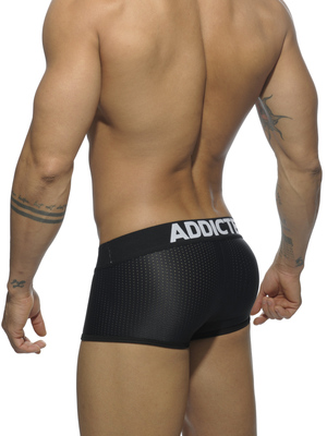 ADDICTED Mesh Boxer Push Up Black