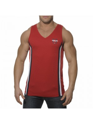 Addicted Loose Fitting Tanktop Red